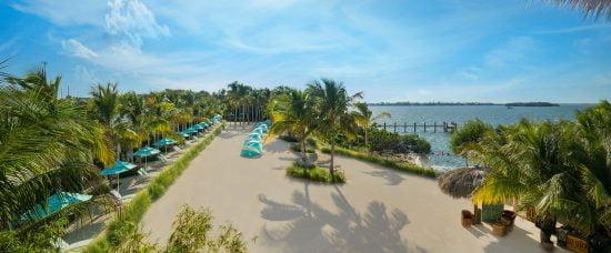 panoramic view of Coconut Beach