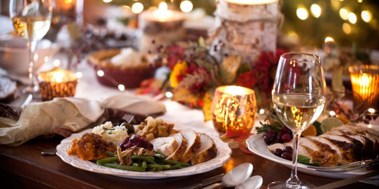 Holiday-Dinner---stock-photo